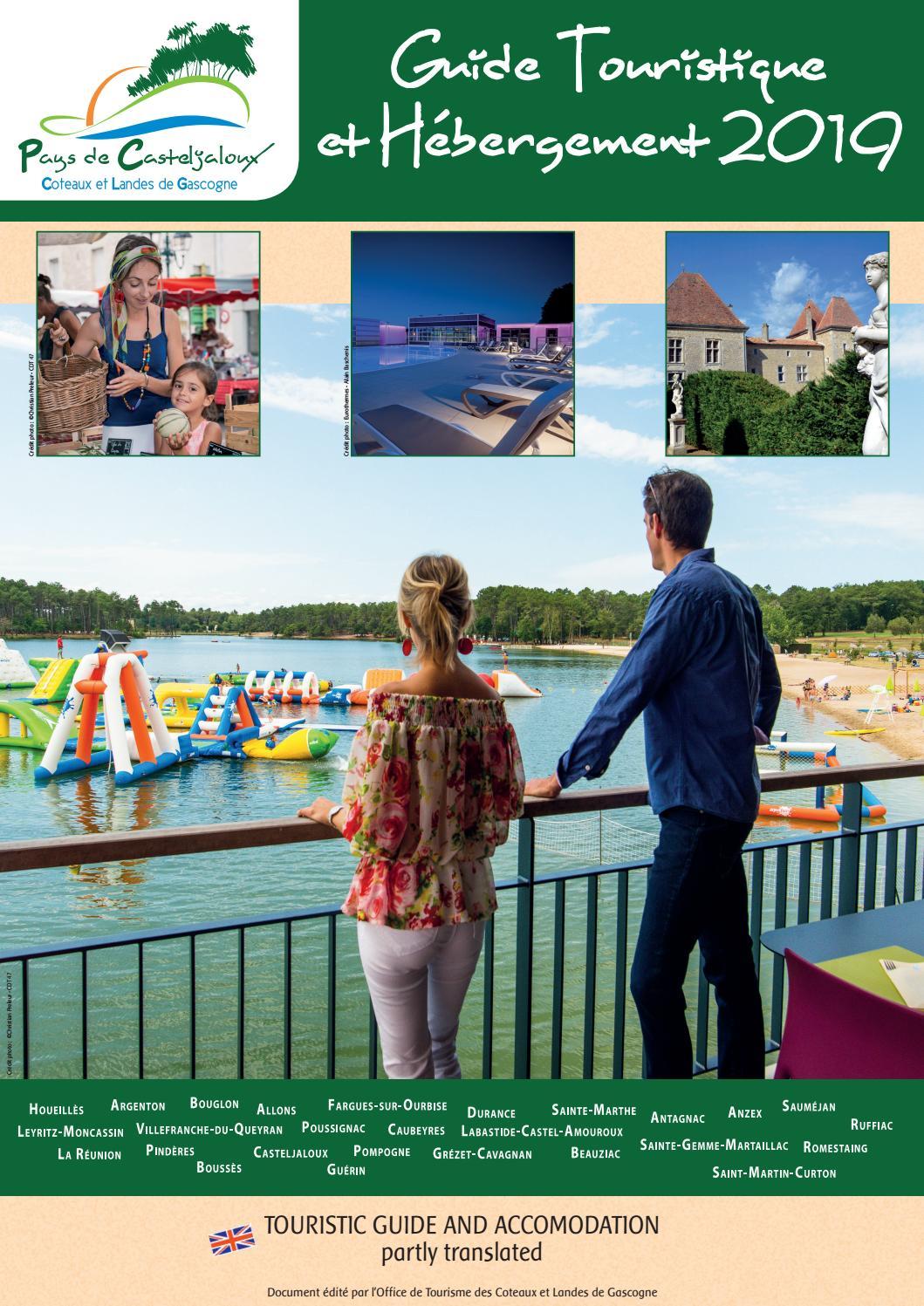 Guide touristique et h bergements 2019 pays de - Office tourisme casteljaloux ...