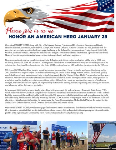 Page 8 of Welcome Home Our American Hero