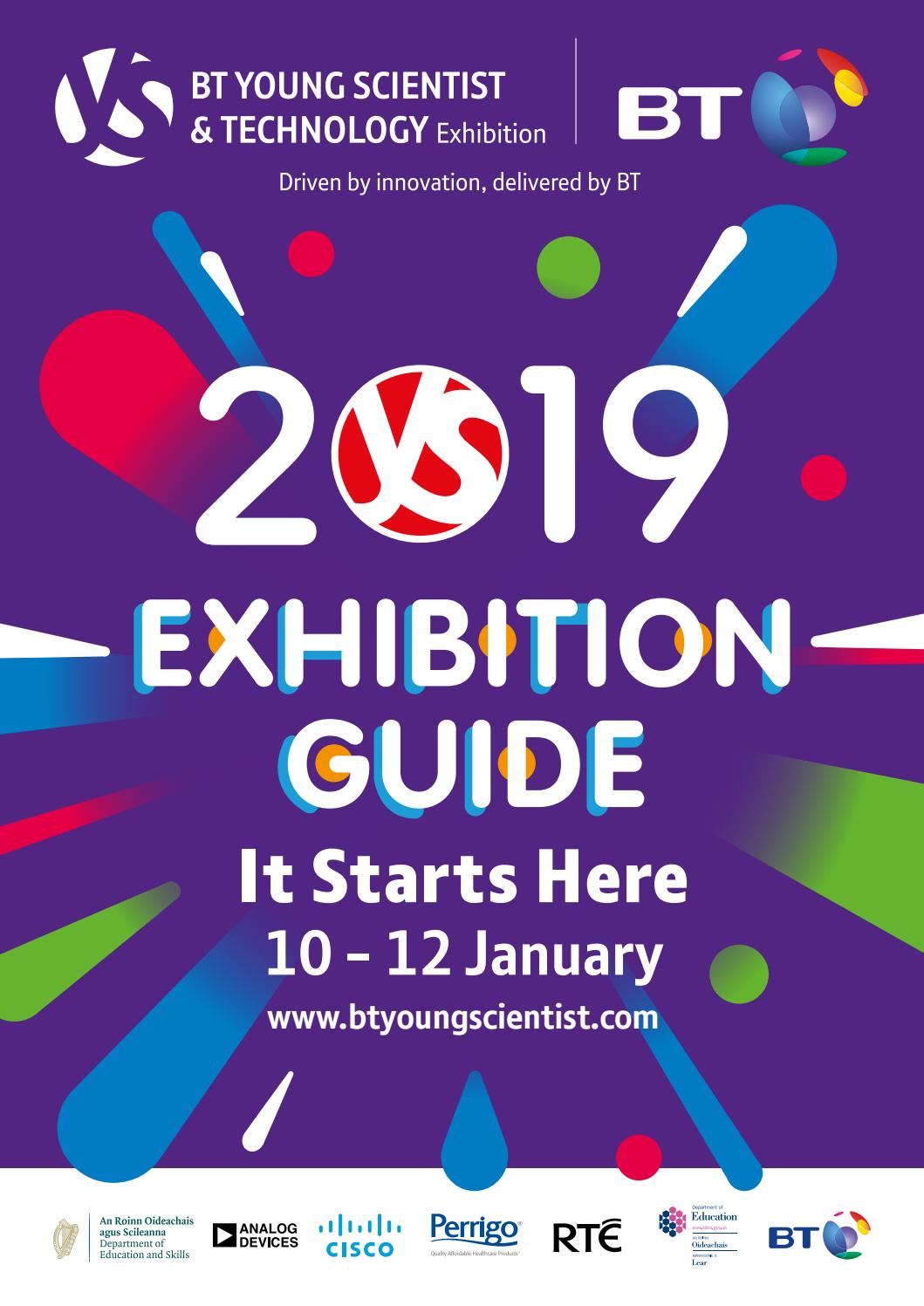 BT Young Scientist & Technology Exhibition 2019 by BT Young