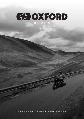 Motorcycle Brochure 2019 by Oxford Products - issuu