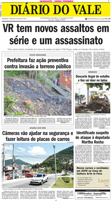 8939 - Diario - Terça-feira - 15.01.2019 by Diário do Vale - issuu 10b24a8700c