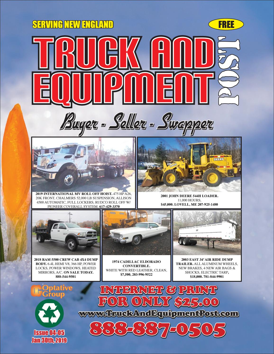 Truck And Equipment Post - Issue 04-05, 2019 by 1ClickAway