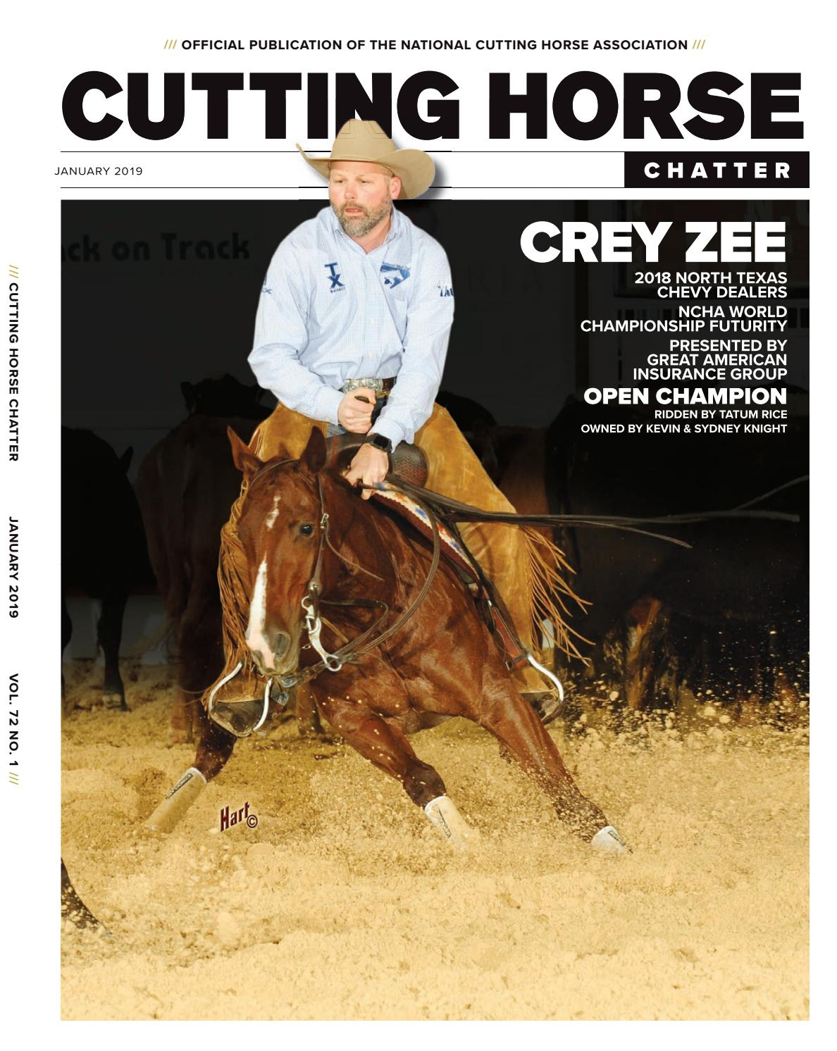 3beb57ea26e1dc Cutting Horse Chatter by Cowboy Publishing Group - issuu