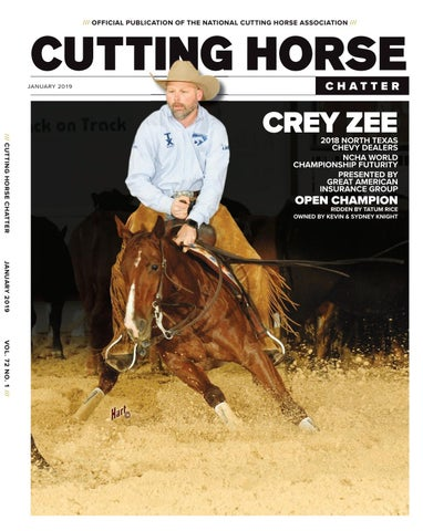 Cutting Horse Chatter By Cowboy Publishing Group Issuu