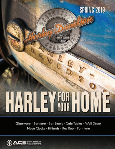 Harley Davidson Roadhouse Collection Spring 2019 Catalog By Ace