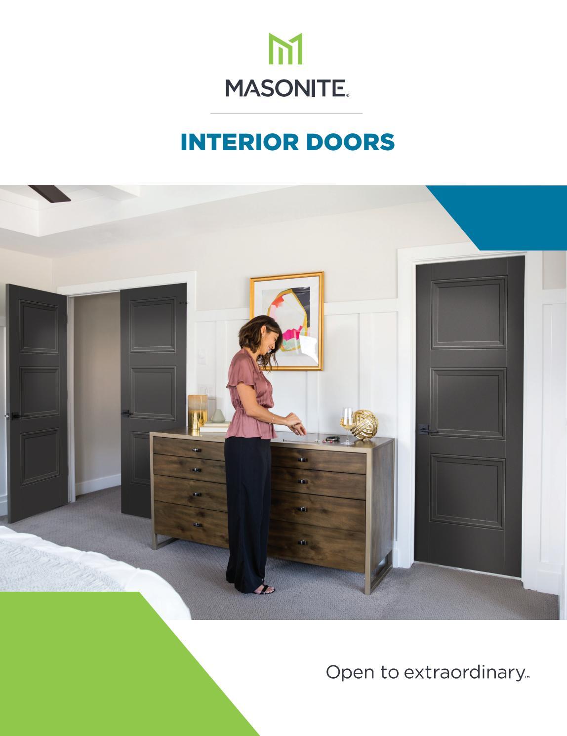 2019 Masonite Interior Door Catalog By Clearymillwork Issuu