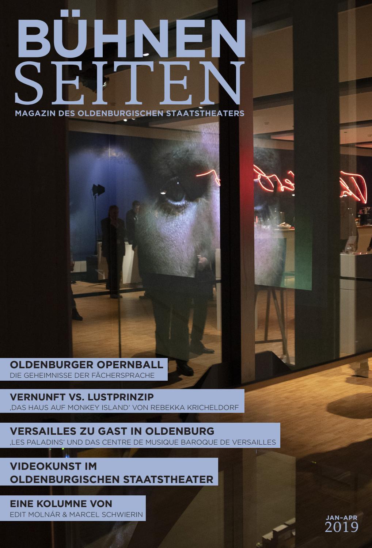 Haus Fu Emden Karte.Buhnenseiten Jan Apr 2019 By Oldenburgisches Staatstheater