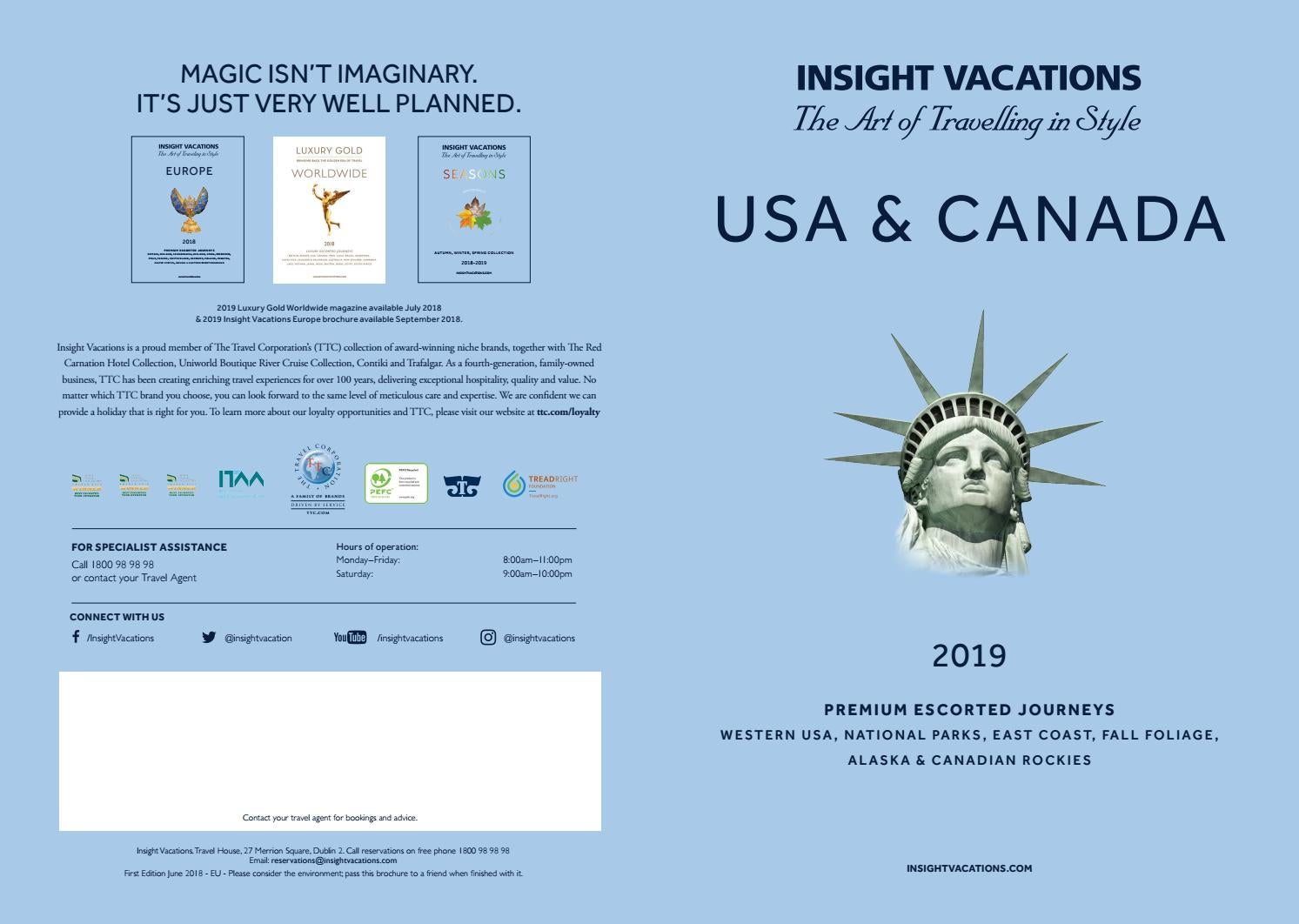 Insight Vacations USA   Canada by Sunway Travel Group - issuu f87e9cb0209f