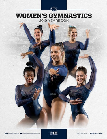 f5b929be5528 2019 Penn State Women's Gymnastics Yearbook by Penn State Athletics ...