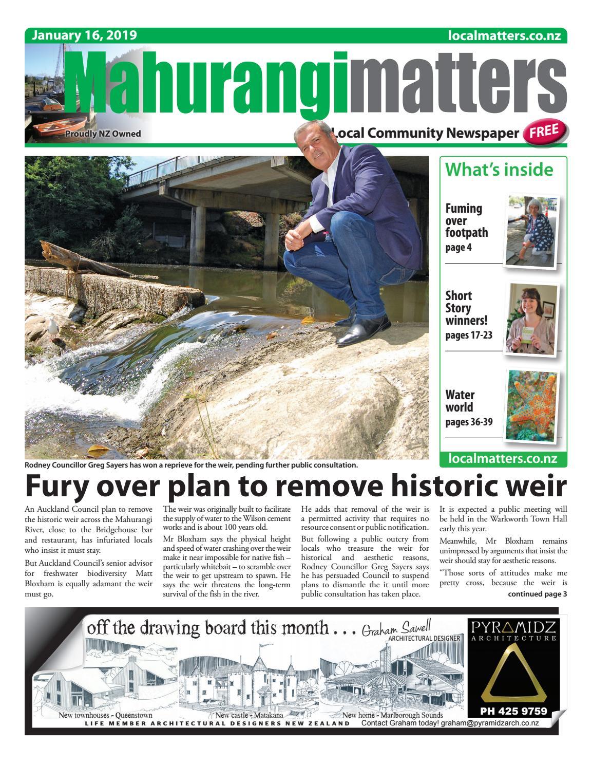 mahurangi matters 16 january 2019localmatters - issuu