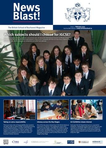 BSB School Magazine - February 2011 by Crawford House Foundation