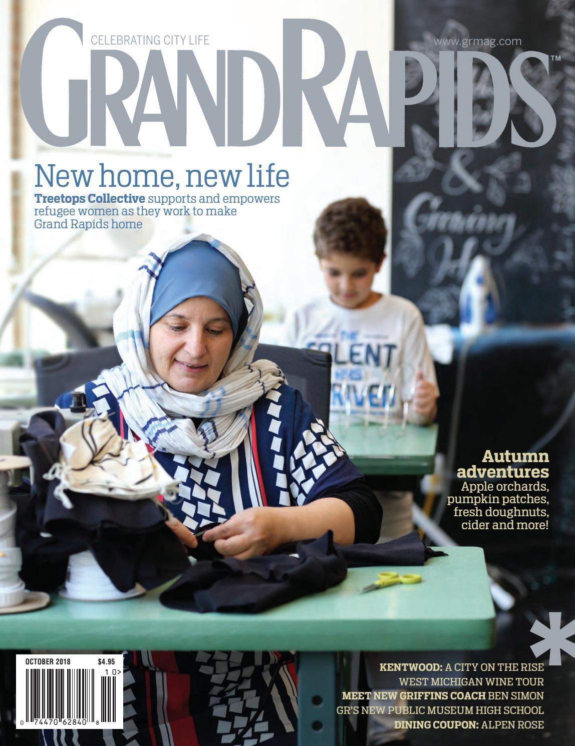 1b7fb4532a75fb Grand Rapids Magazine - October 2018 by Grand Rapids Magazine - issuu