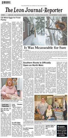 1010399a4bcb The Leon Journal-Reporter - January 16