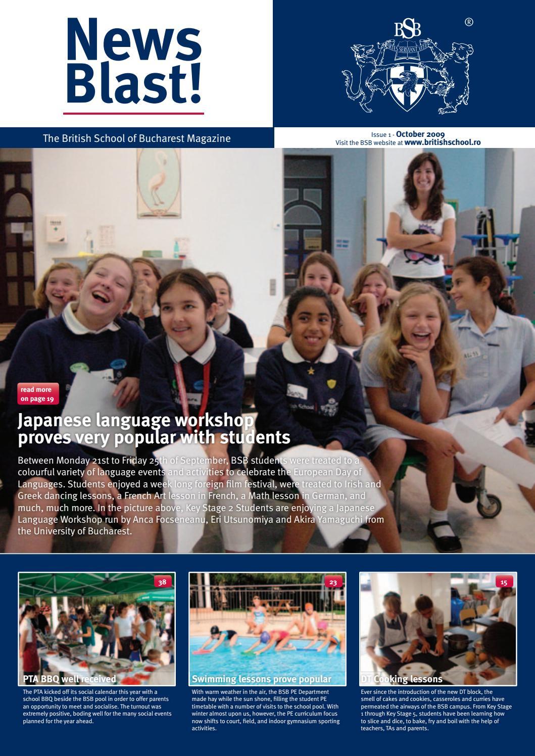 BSB School Magazine - October 2009