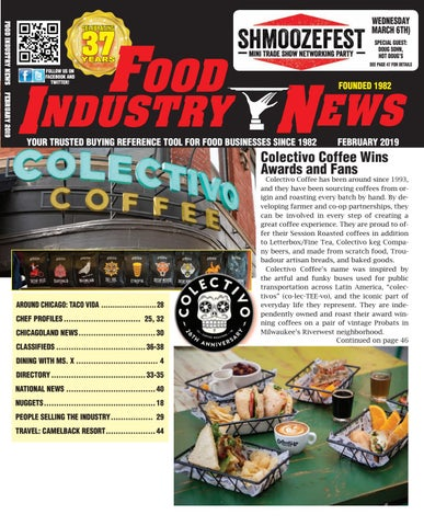 Food Industry News February 2019 web edition by