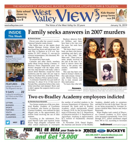 West Valley View: West January 16, 2019 by Times Media Group