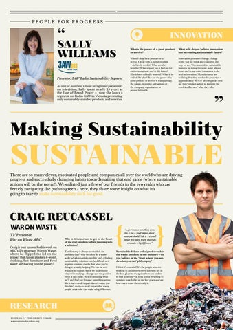 Page 3 of MAKING SUSTAINABILITY SUSTAINABLE | Innovation