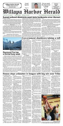 January 16, 2019 Willapa Harbor Herald by flannerypubs - issuu