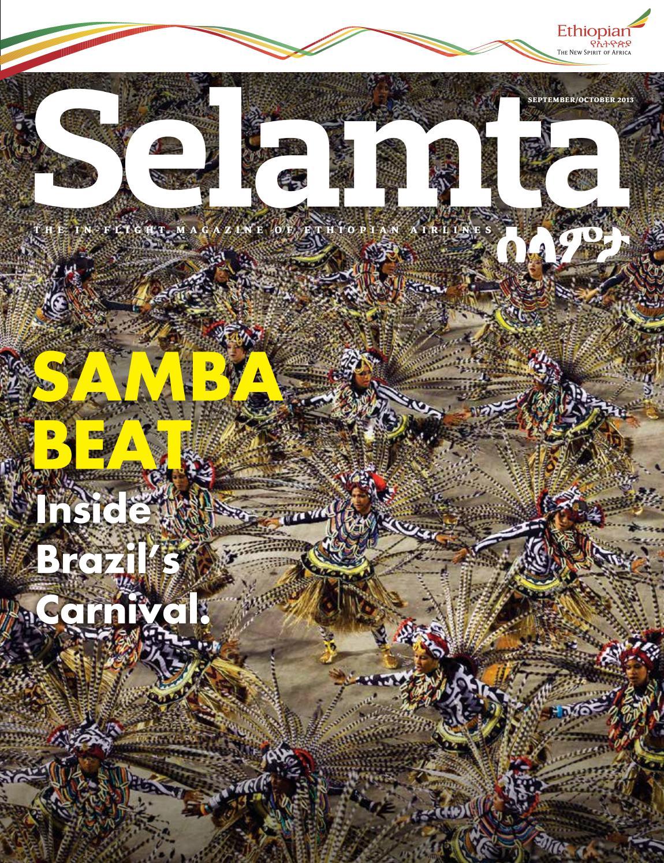 Revista Selamta (Ethiopian Airlines - Etiópia) by Portal