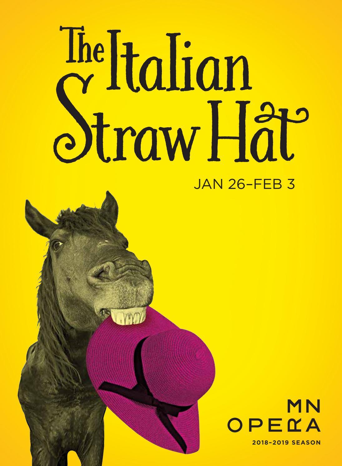 Minnesota Opera's The Italian Straw Hat