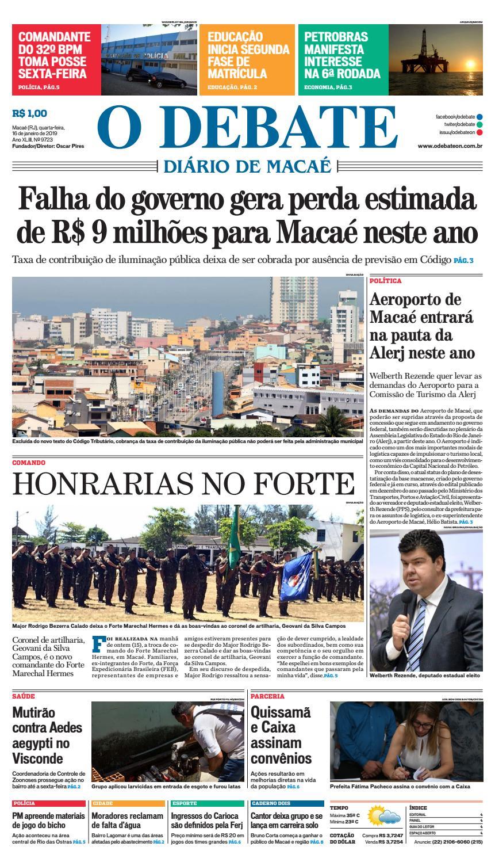 09db265accf Edição 9723 16-01-2019 by O DEBATE Diario de Macae - issuu