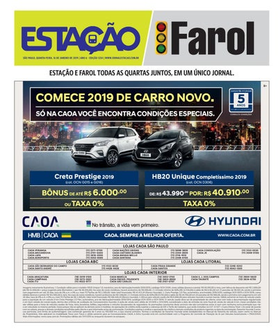 1aa6f8a9d1b Jornal Estação de 16 01 2019 - Ed. 1234 by Jornal Estação - issuu