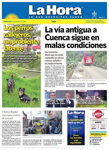 Diario La Hora Loja 16 de Enero 2019 by Diario La Hora Ecuador - issuu 3edbae7bd9a50