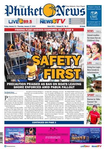 The Phuket News 11 January 2019 by The Phuket News - issuu