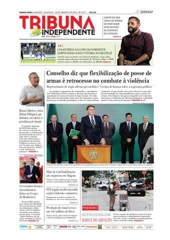 22b5fa28da QUARTA-FEIRA n MACEIÓ - ALAGOAS - 16 DE JANEIRO DE 2019 - Nº 3.311 -