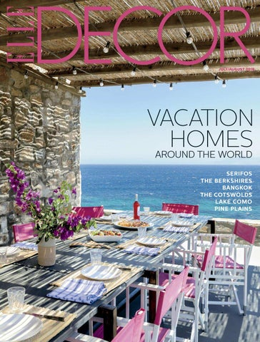 a061b1336 VACATION HOMES AROUND THE WORLD SERIFOS THE BERKSHIRES BANGKOK THE COTSWOLDS  LAKE COMO PINE PLAINS
