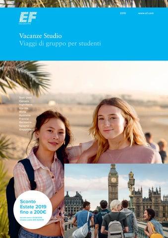 Page 1. 2019. Vacanze Studio Viaggi di gruppo per studenti 680cfd612947