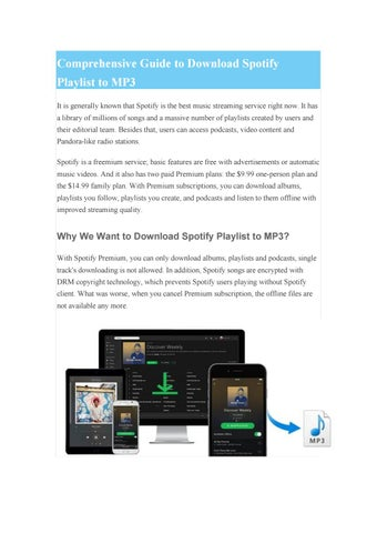 How to Download Spotify Playlist to MP3 by Mike Si - issuu