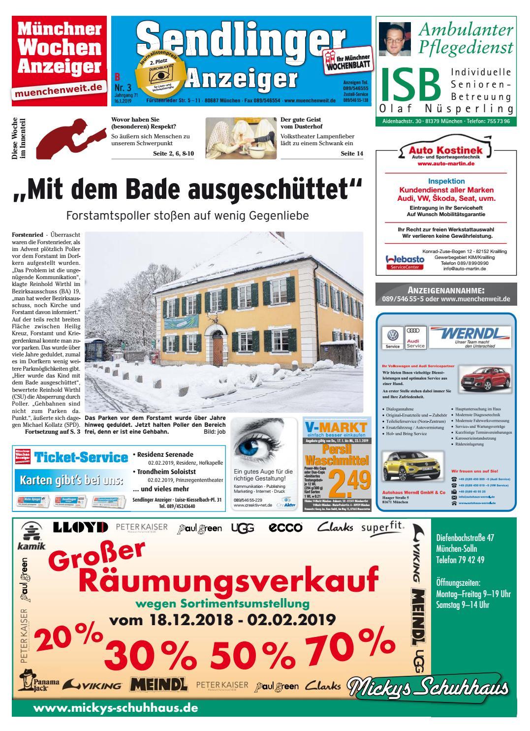 674062ae4e5a90 KW 03-2019 by Wochenanzeiger Medien GmbH - issuu