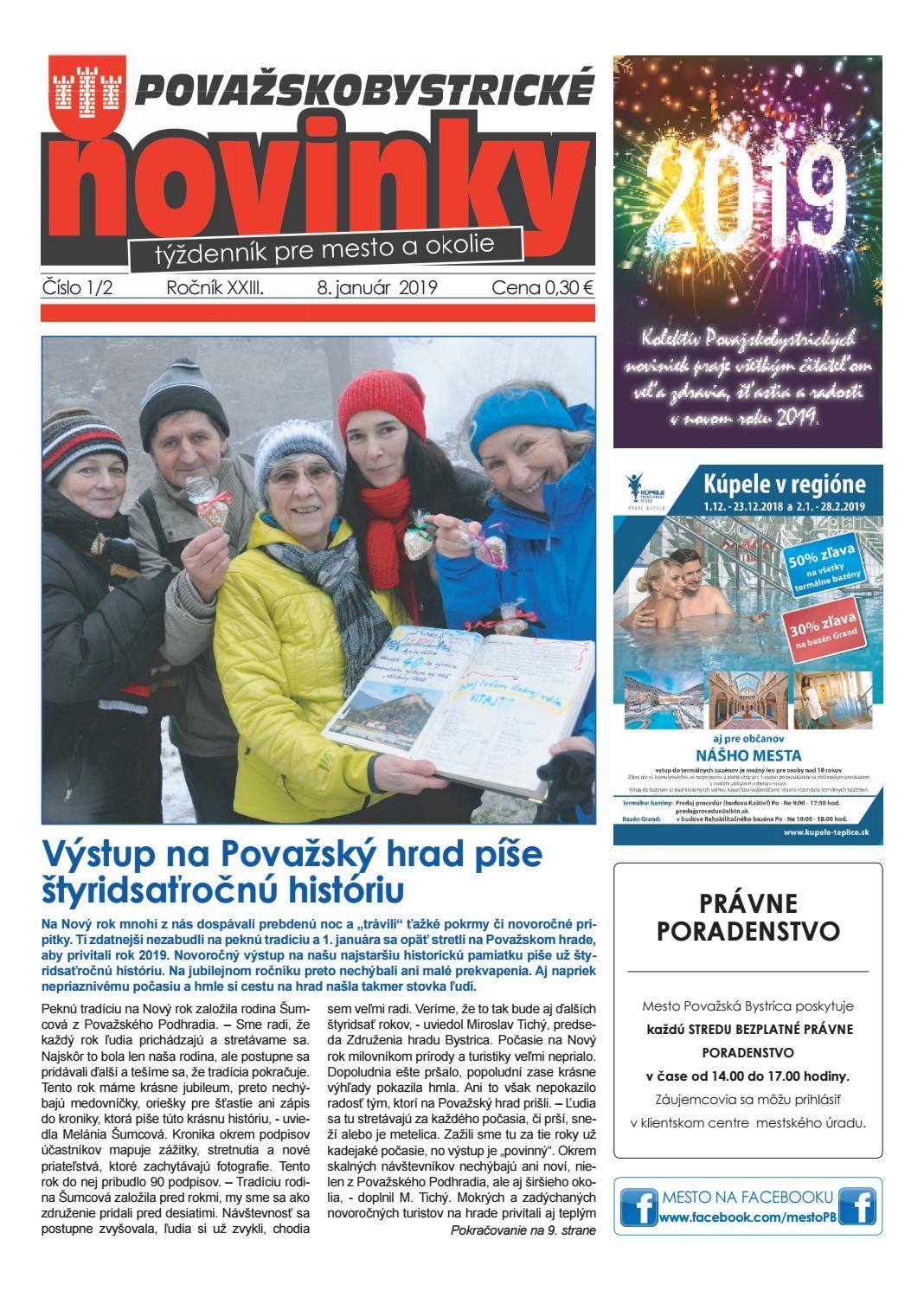 04e64371dfd4 Považskobystrické novinky č. 1-2  2019 by Považskobystrické novinky - issuu