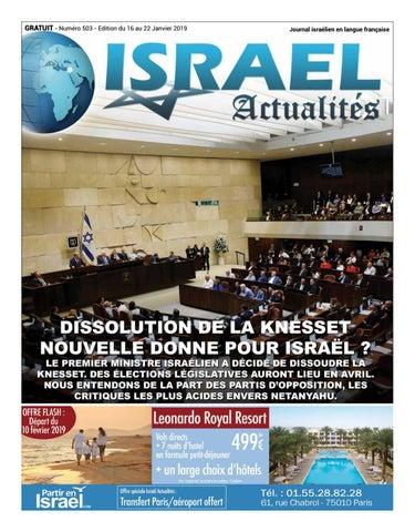 47a5f63b42164 Israël Actualités n°503 by epsilon media Associés - issuu