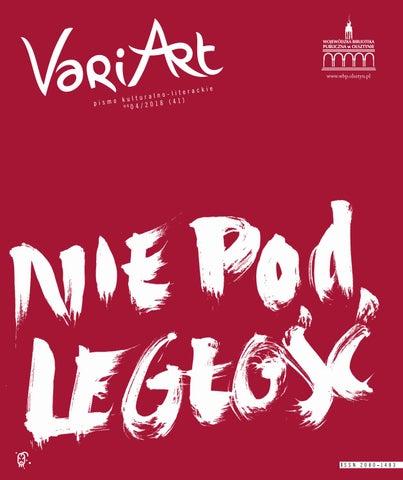 Variart 042018 By Wojewódzka Biblioteka Publiczna W