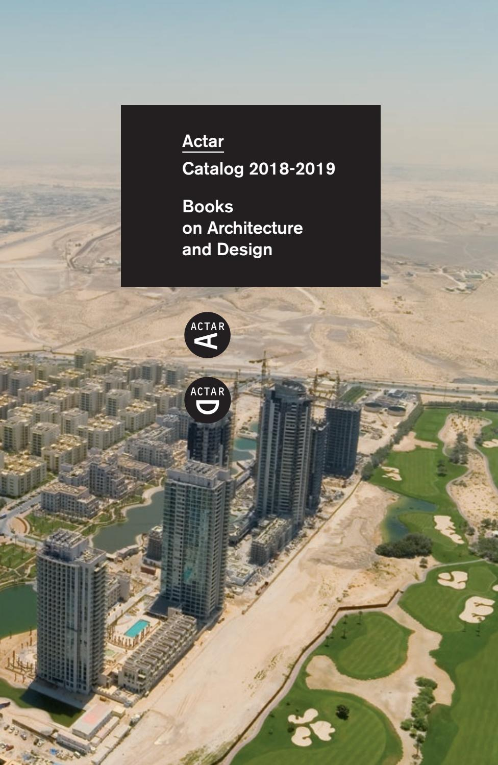 Catalog 2018-2019  Books on Architecture and Design  by