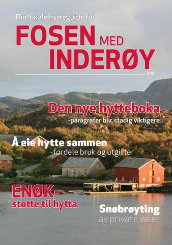 0c19601db Din lokale hytteguide for Fosen og Inderøy 2019