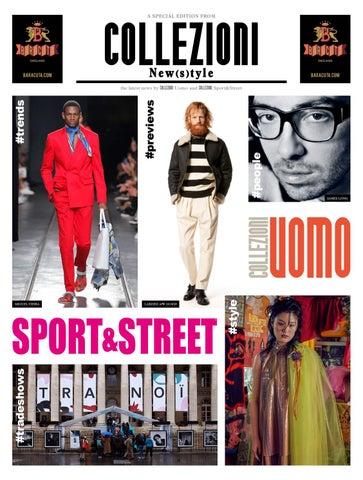 Collezioni New(s)tyle - Collezioni Sport Street and Uomo  ss 2019 by ... 168857fb755