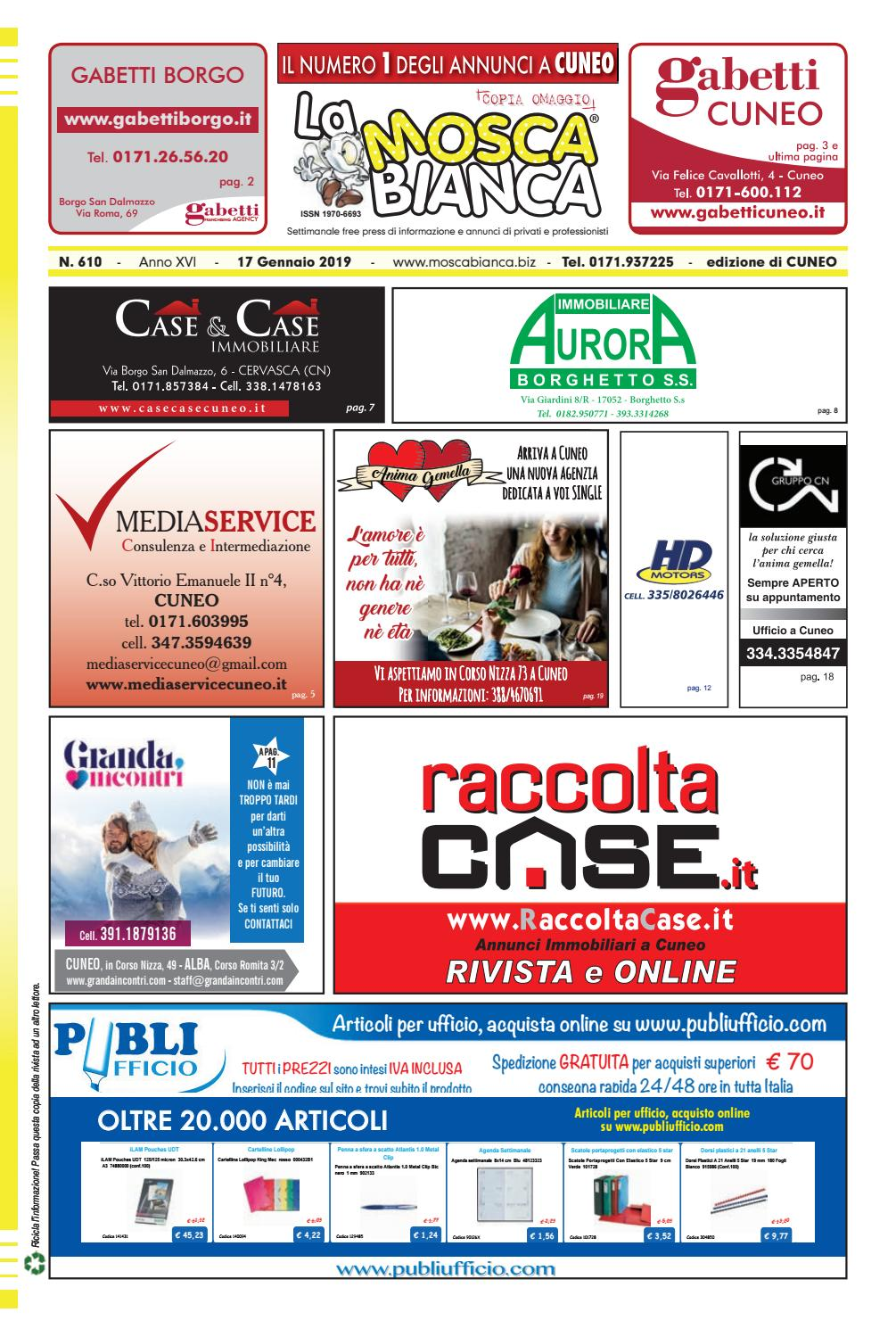 La Mosca Bianca Cuneo n. 610 by Publidok S.r.l. - issuu 3cfc6112cd7