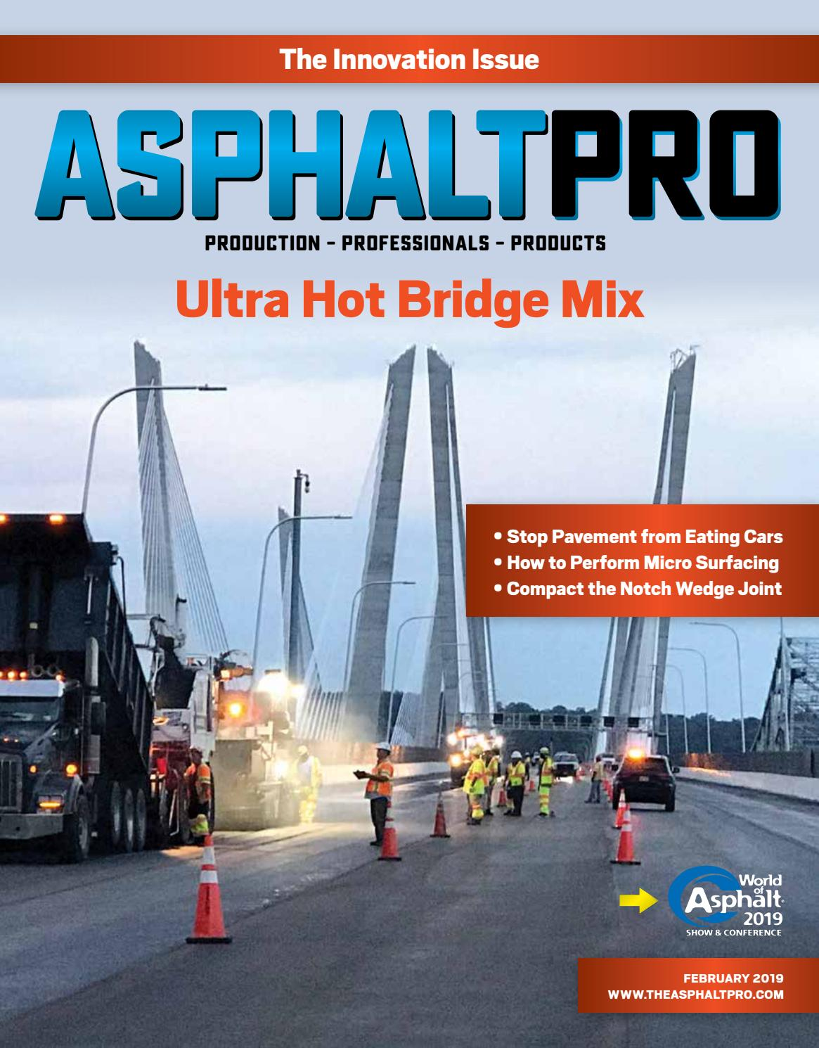 Asphalt Pro February 2019 by Asphalt Pro LLC issuu