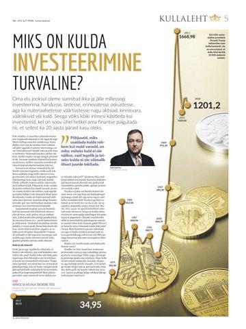 Page 5 of Miks on kulda investeerimine turvaline?