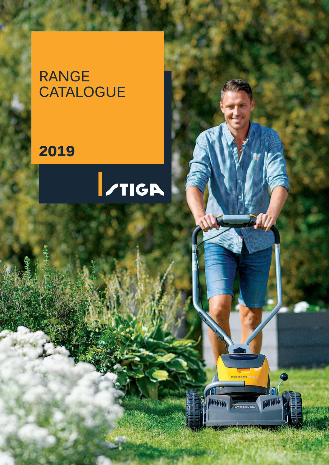 STIGA Catalogue 2019 INT by STIGA - issuu