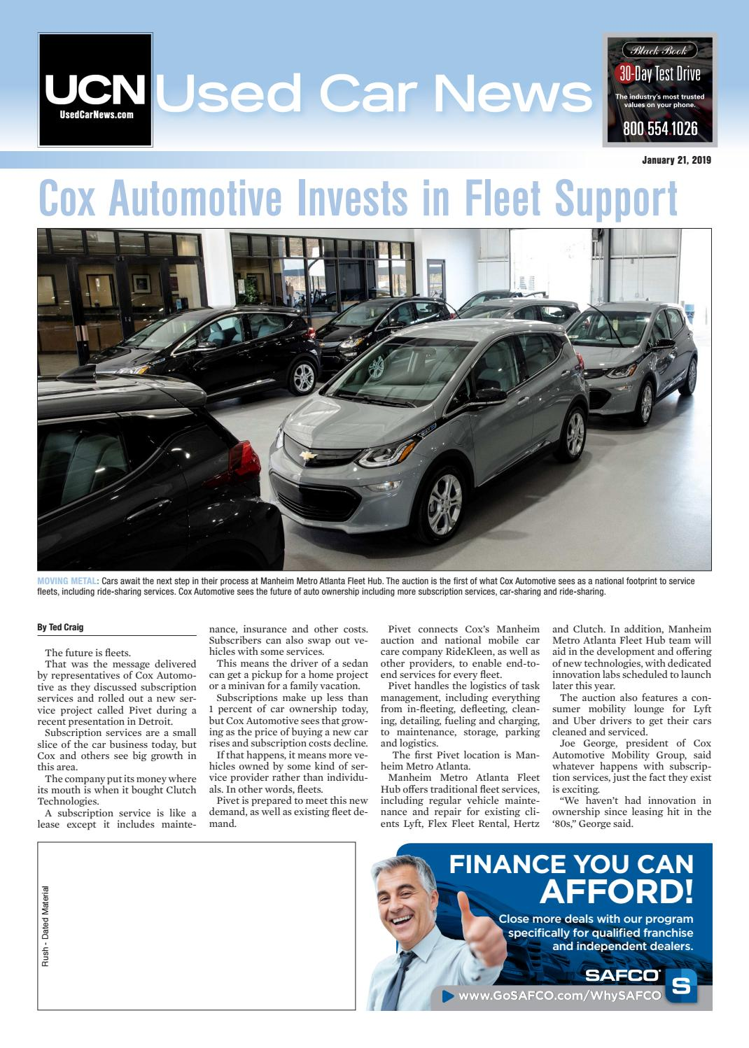 Used Car Dealerships Tyler Tx >> Used Car News 1 21 19 By Used Car News Issuu