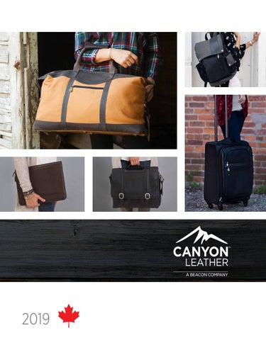 02d90fac15b3 2019 Canyon Leather by DistributorCentral - issuu