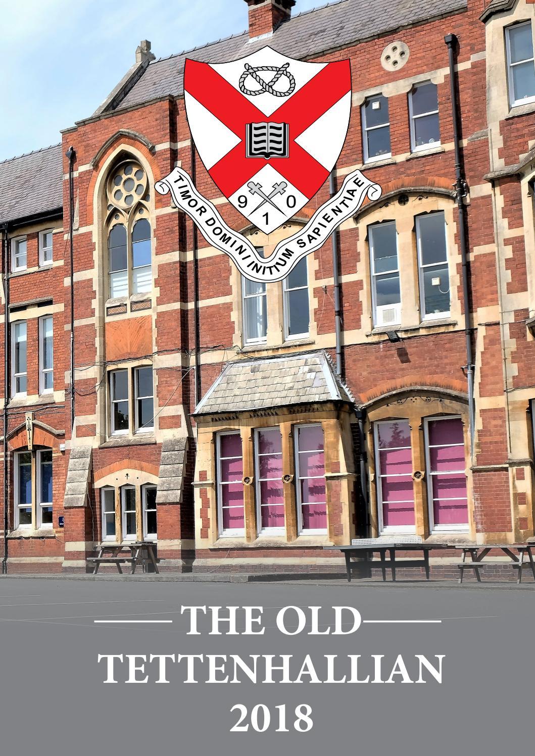 The Old Tettenhallian Magazine 2018 by Tettenhall College