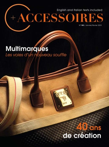 3177f2098df1e5 N°180B January February 2019 by C+ accessoires - issuu