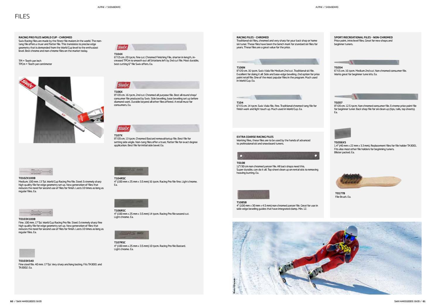 Swix Professional Chrome Ski Edge File