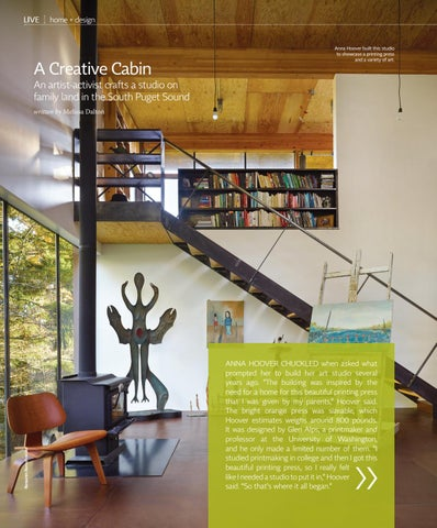 Page 30 of Inside an Artist's Cabin on South Puget Sound