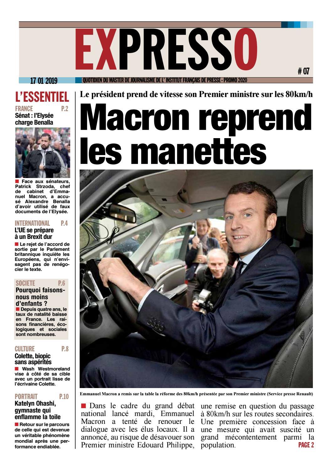 Expresso 07 By Ifp Institut Francais De Presse Paris Ii